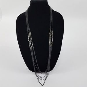 ~ Charming Charlie Necklace Chain Long Multi Stran